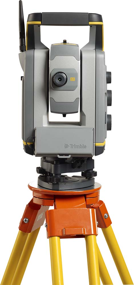"Тахеометр Trimble S7 1"" AutoLock, DR Plus, Trimble Vision, FineLock, Scanning Capable от ФокусГео. Фото N2"