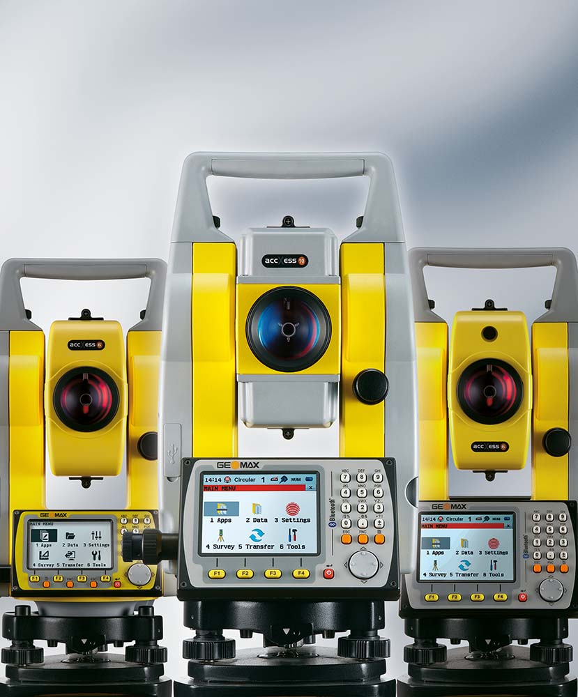 Total Station Geomax
